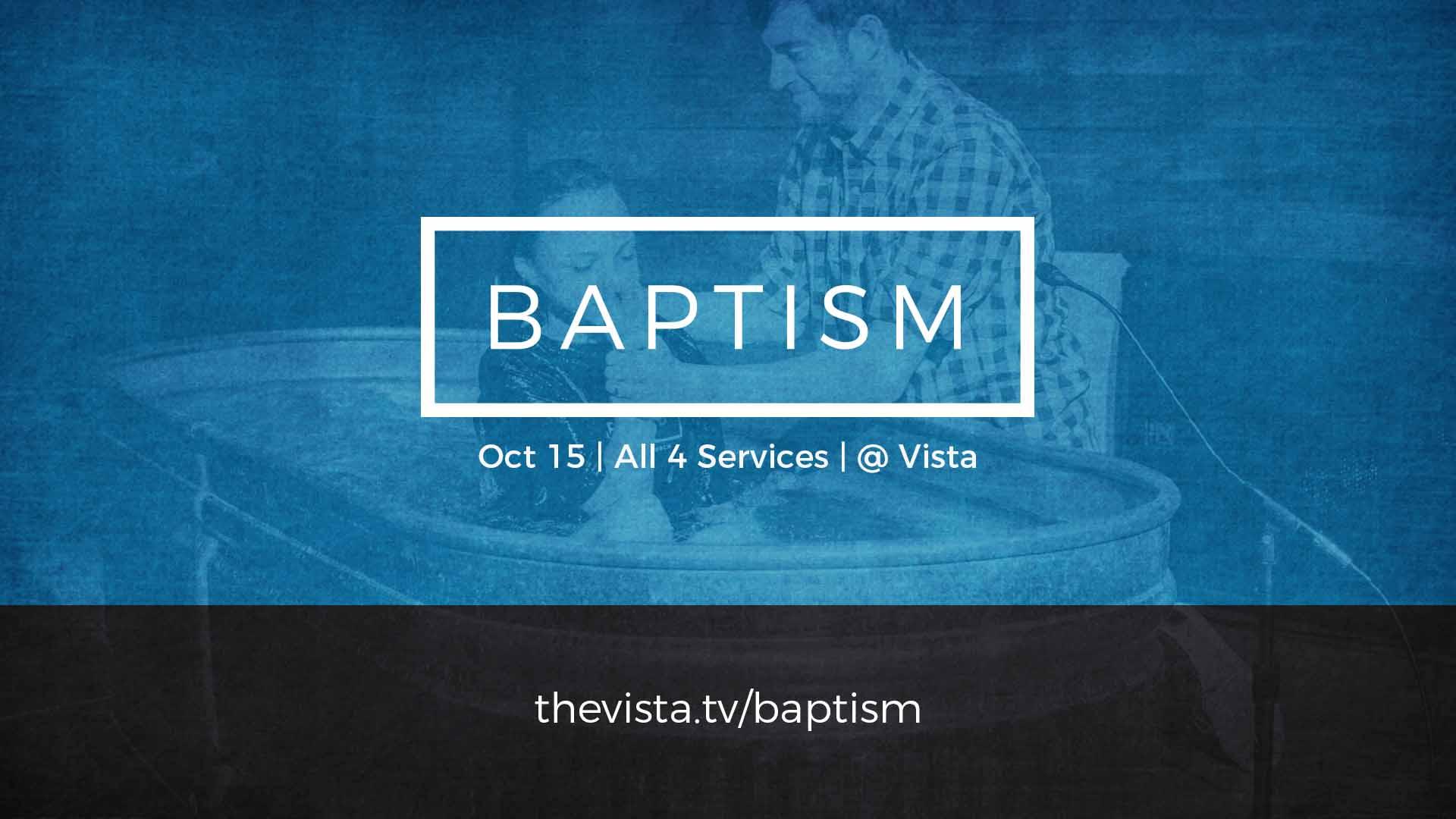 Baptism vista slide