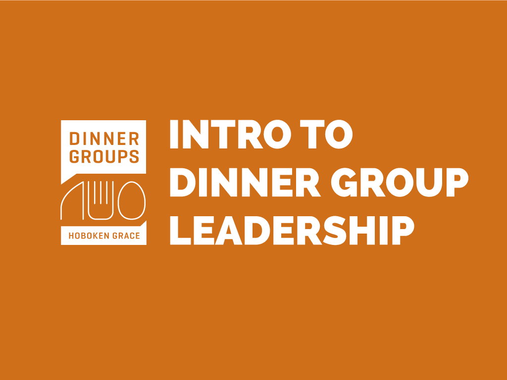 Intro to dinner group leadership