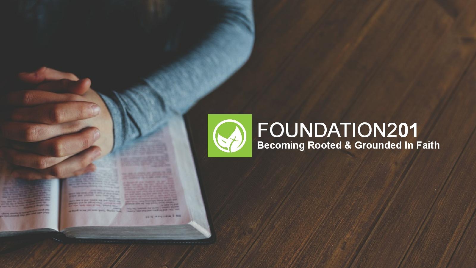 Foundation 201