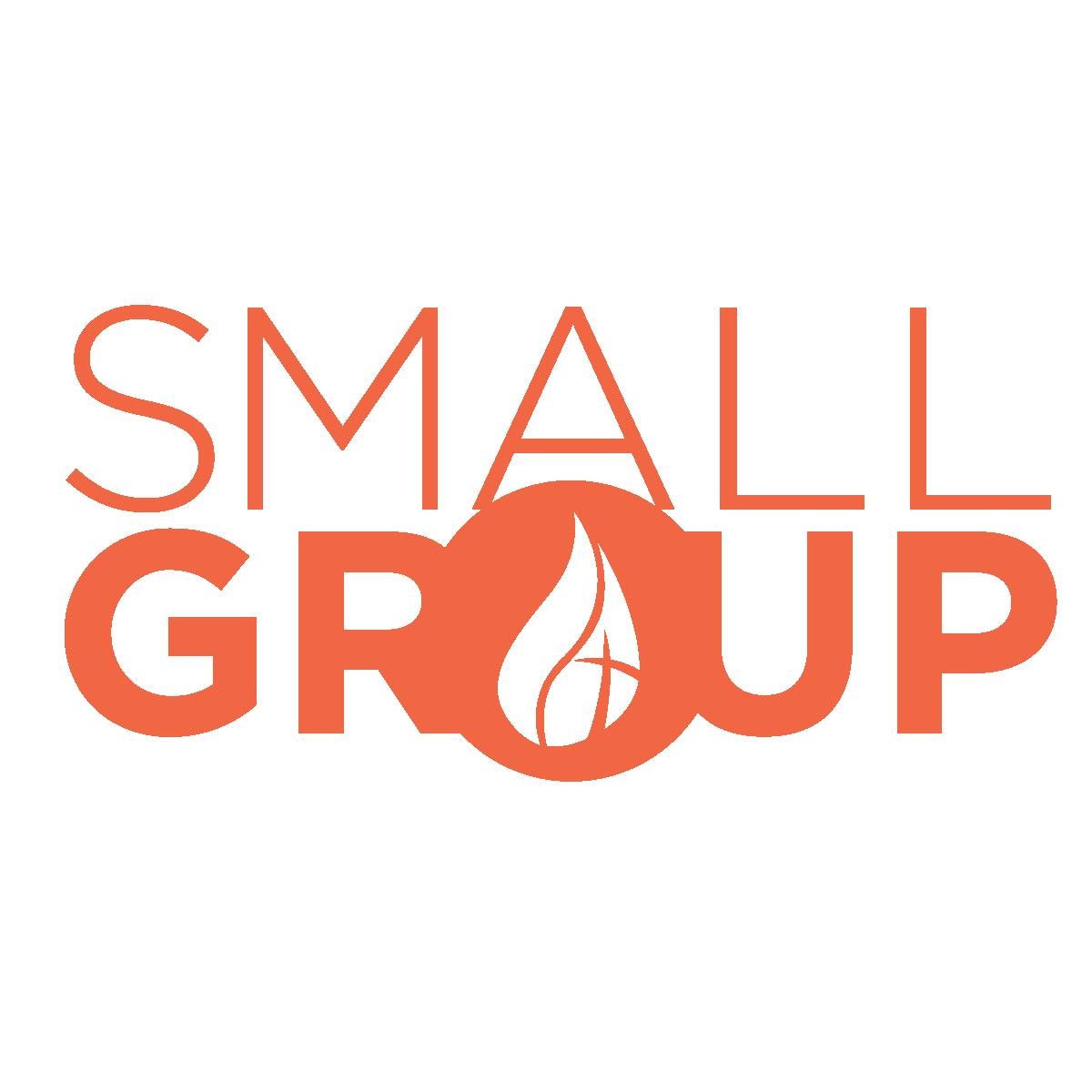 Small groups final logo orange