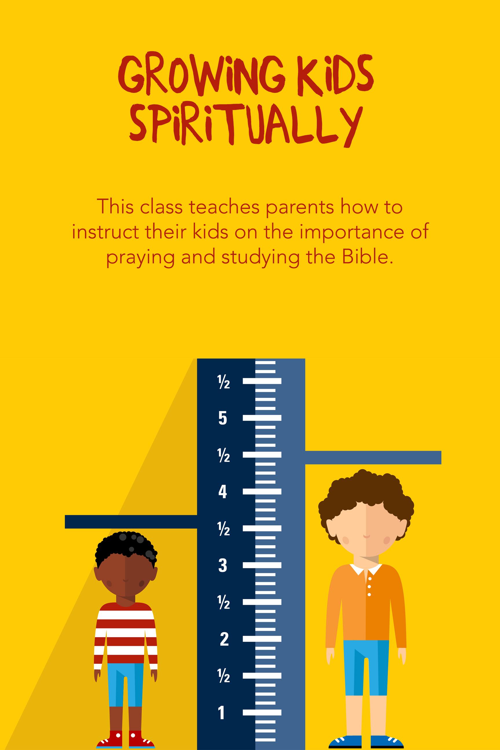 Growing kids spiritually