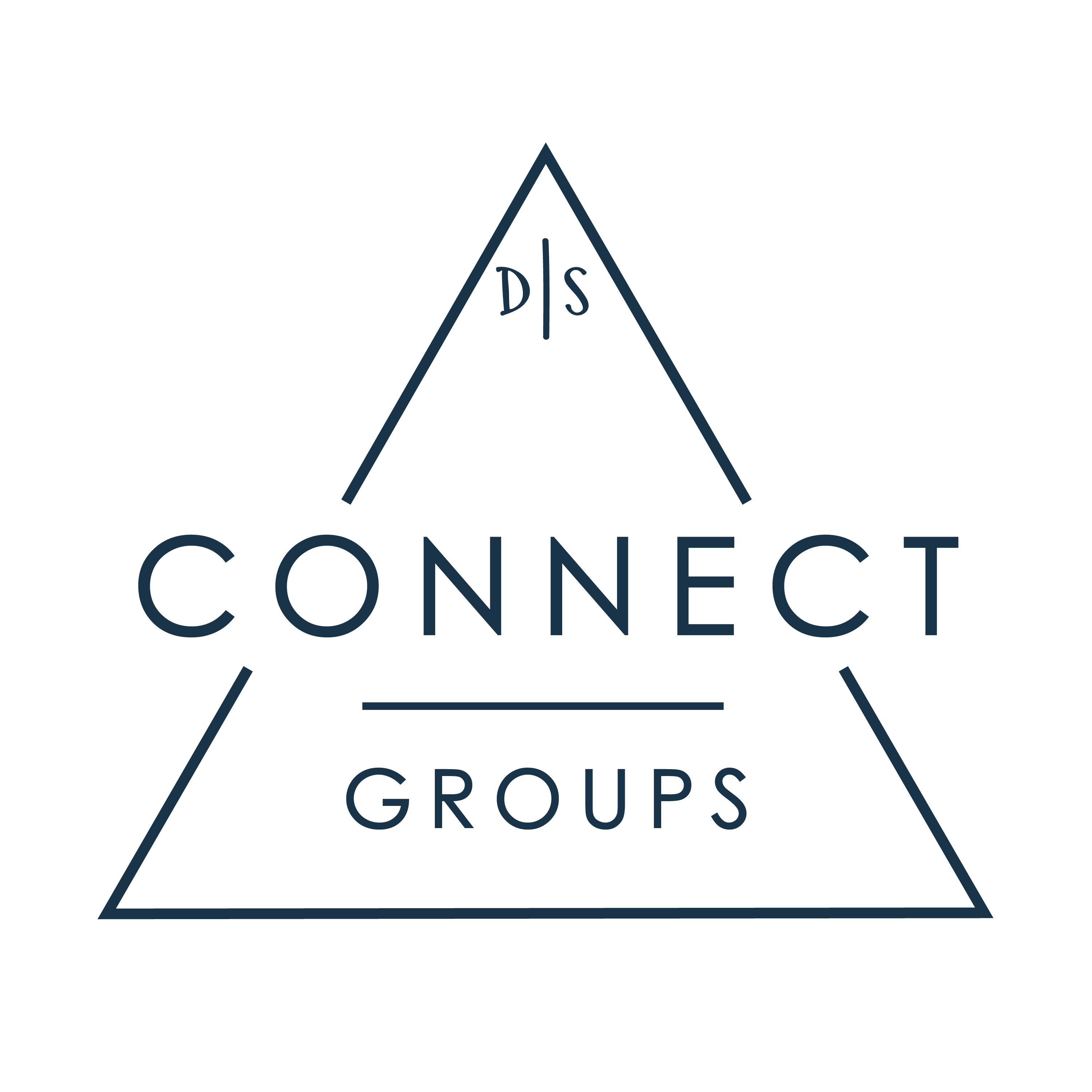 Connect group logo white