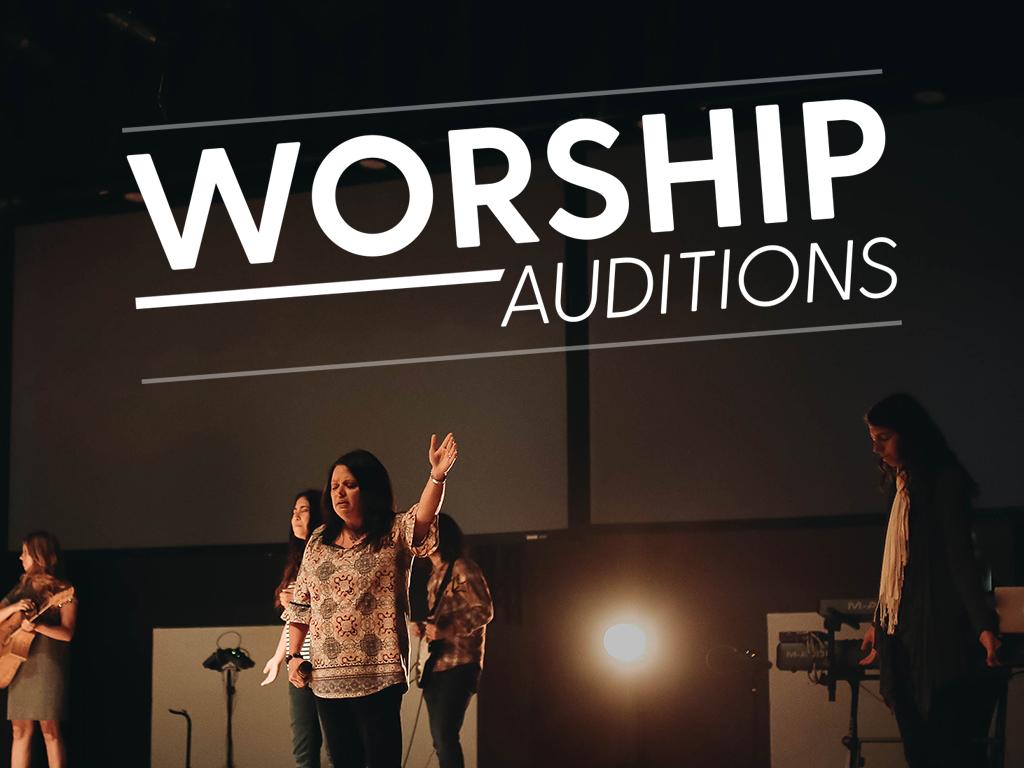 Worship audutions 2017fall pco
