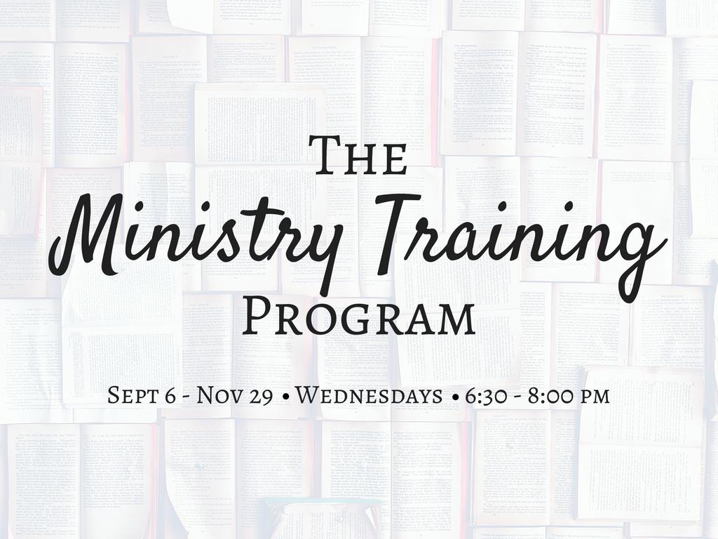 The ministry training program  pco registrations   1