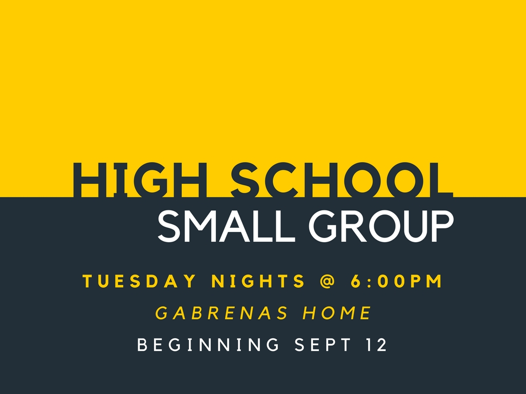 High school small group 2