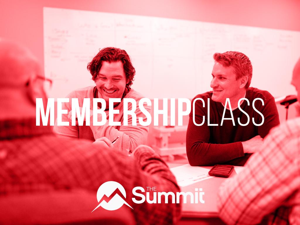 Membership class cover