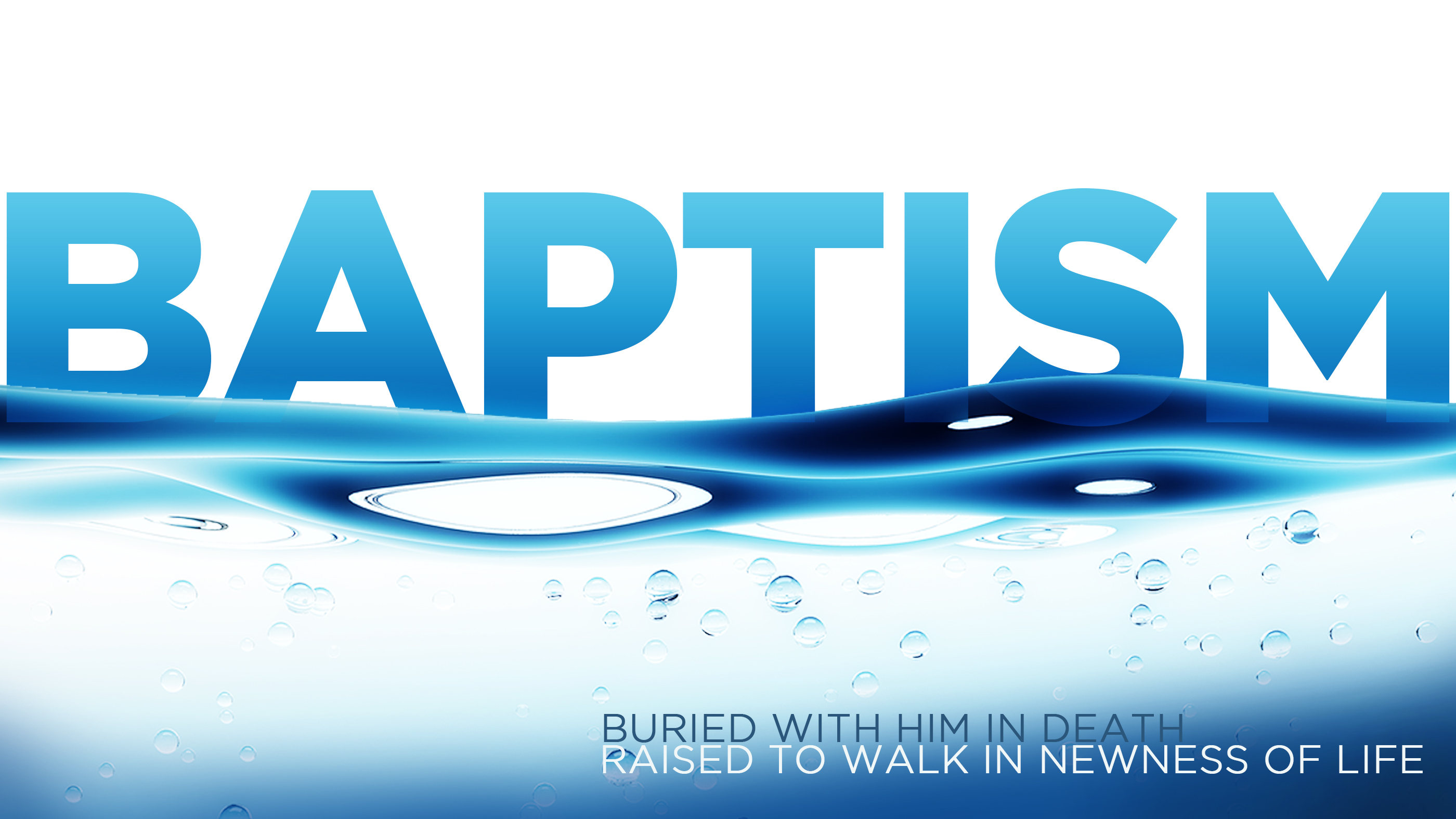 Baptisms   new hope words only