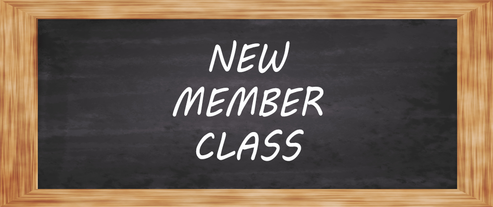 New member class pco graphic