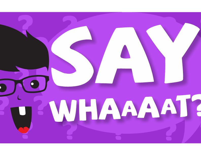 Say whaaat web