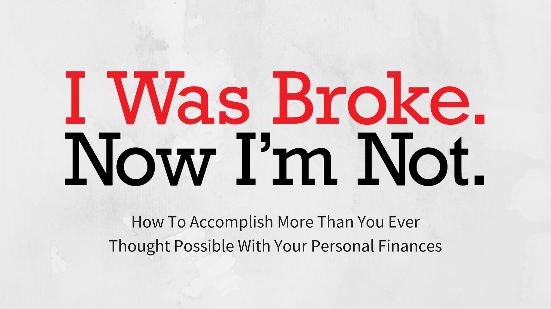 How to accomplish more than you ever thought possible with your personal finances