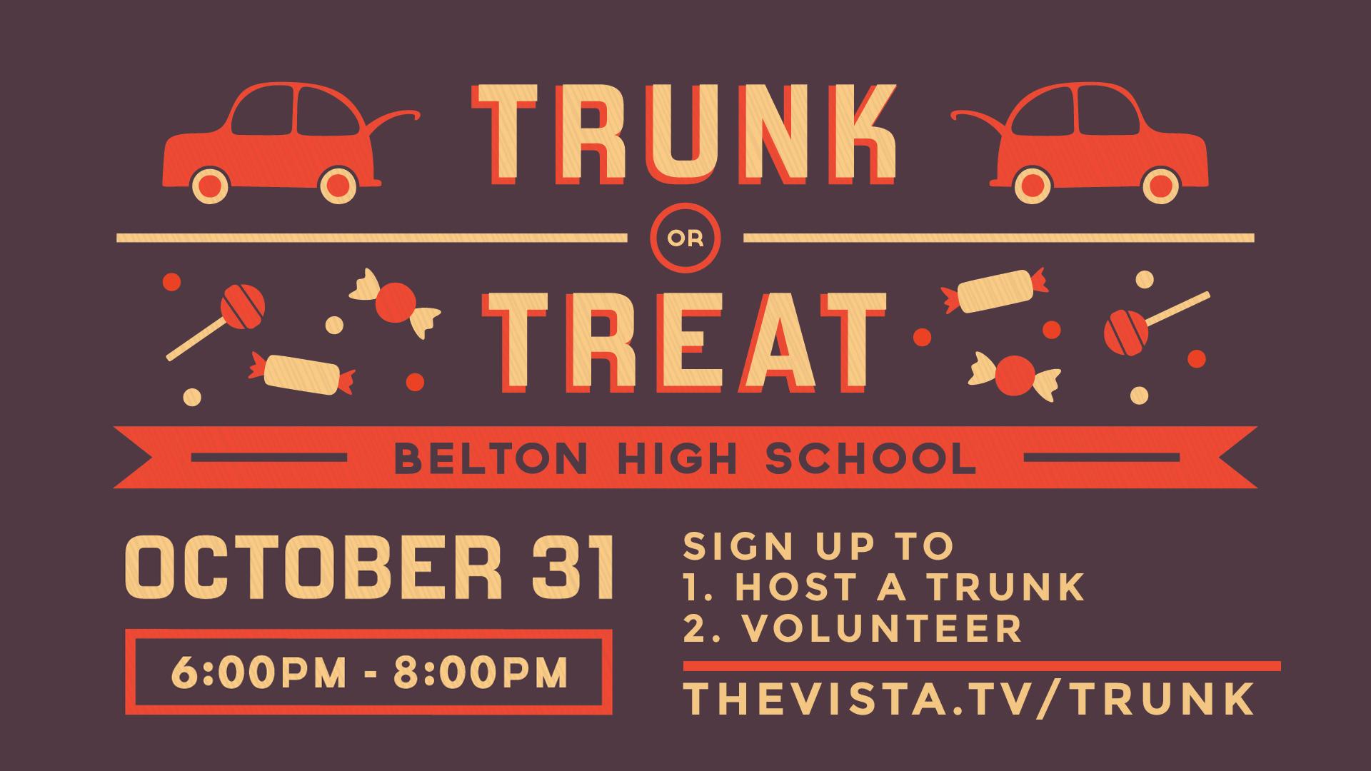 Trunk or treat volunteer