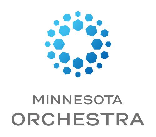Minnesota orchestra logo detail