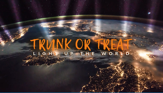 Trunk or treating invite card
