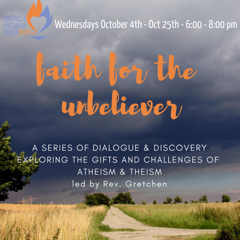 Faith for the unbeliever