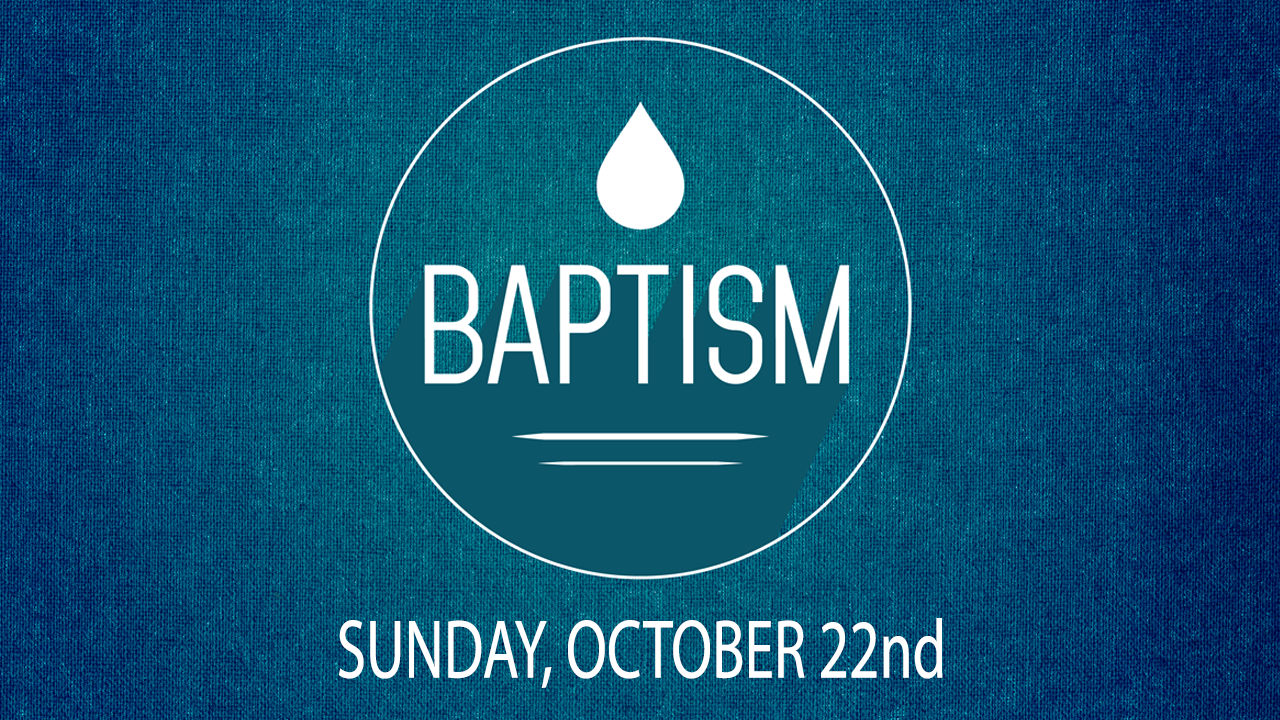 Baptism oct22