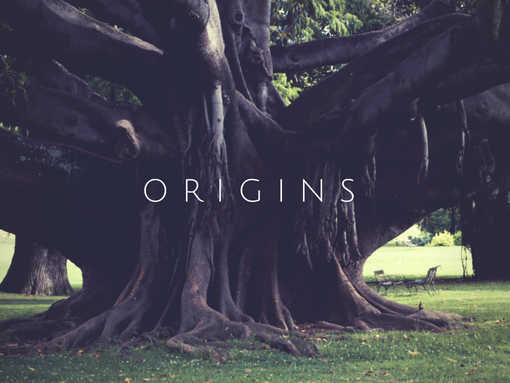 Origins tree