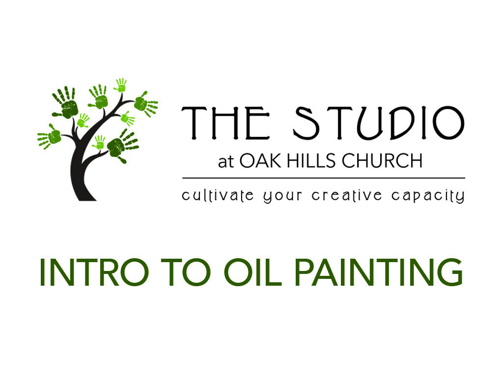 Studio oil painting event