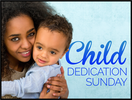 Child dedication 2016