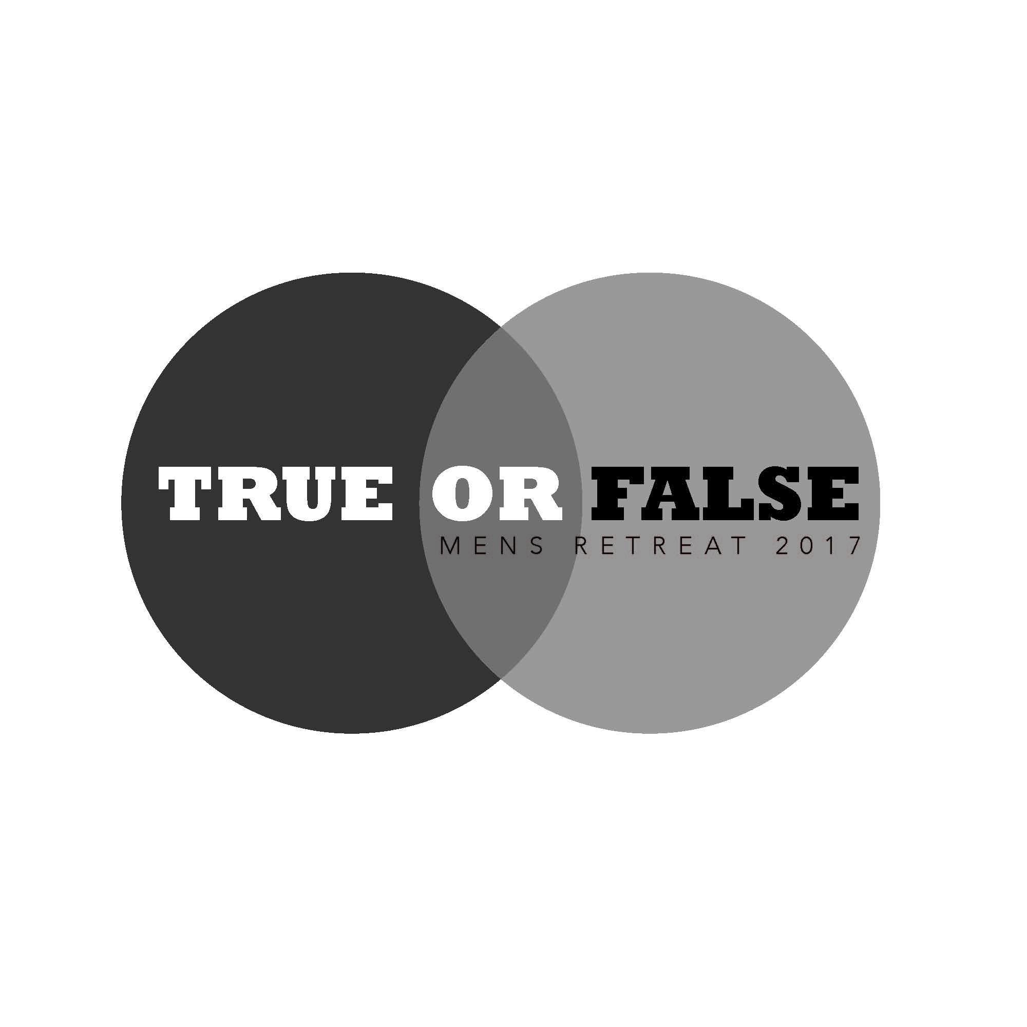 True or false mens retreat 2017 logo  1