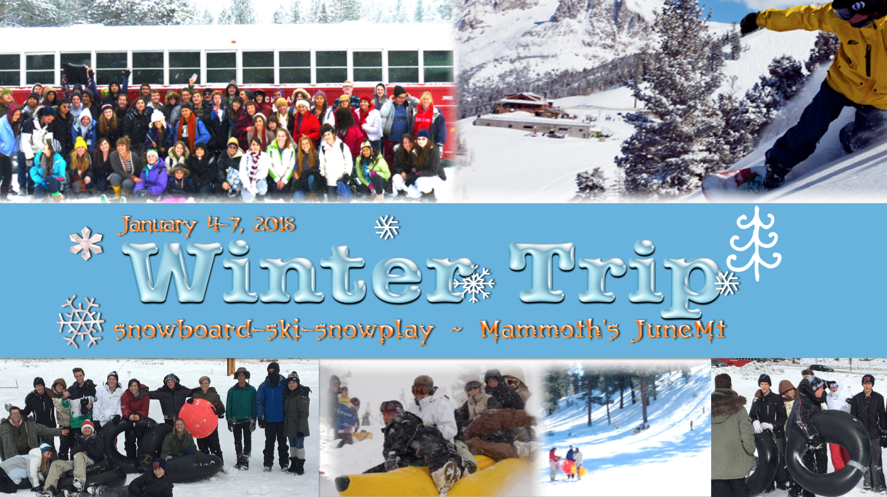 Winter trip banner ad 2018