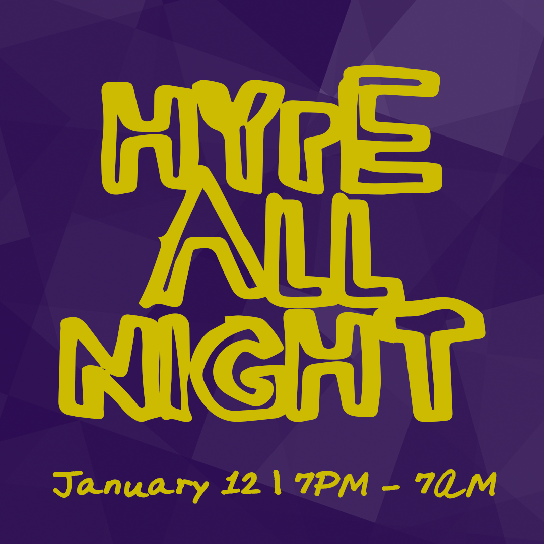 Hype all night instagram