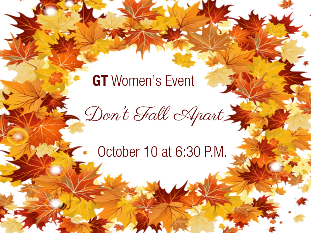 Womens fall event
