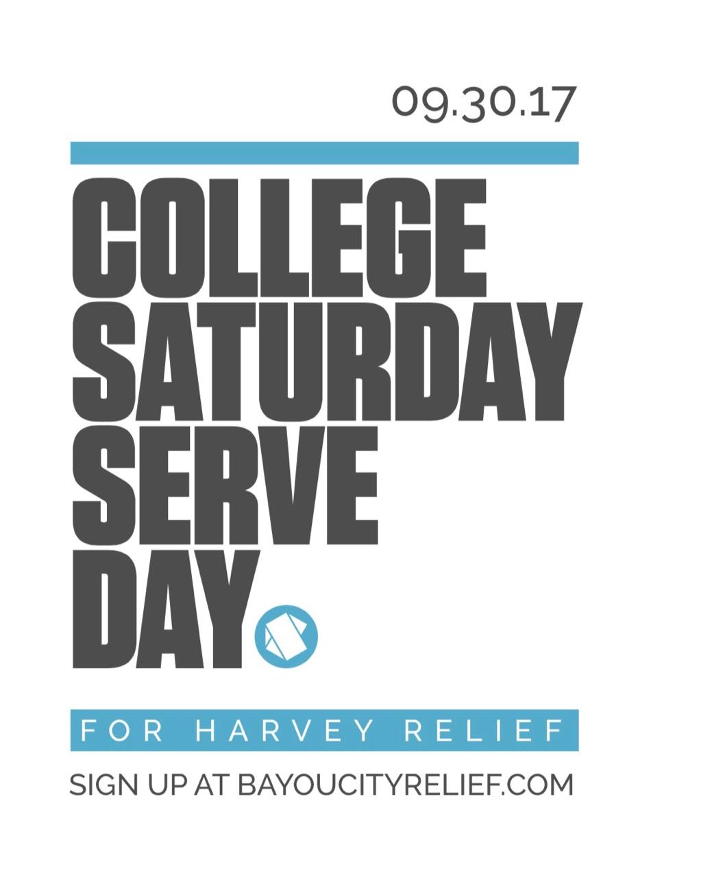 College serve day