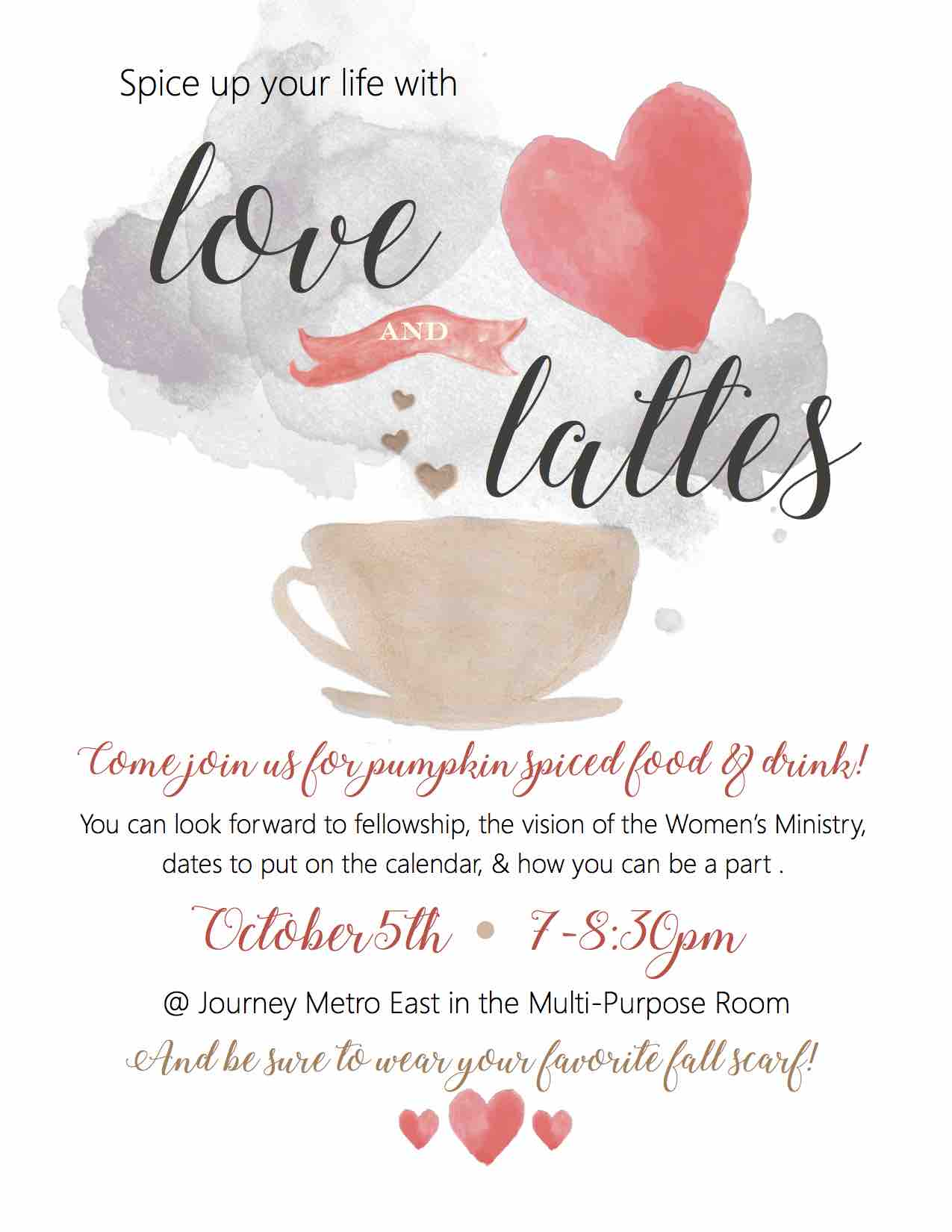 Love and latte page