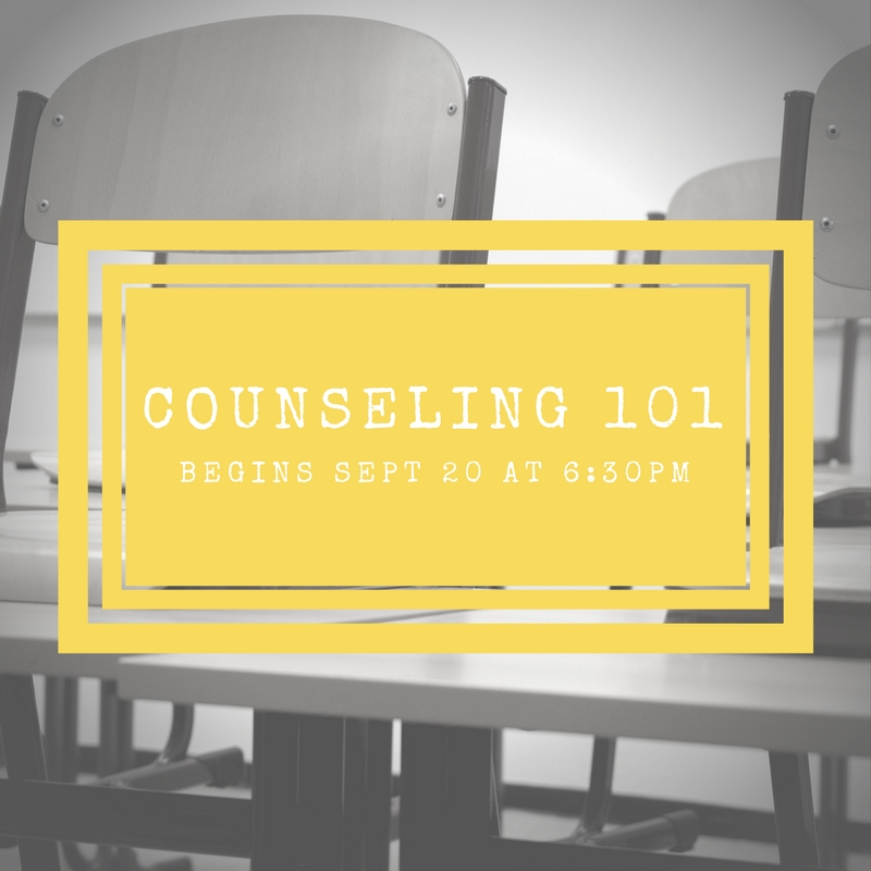 Counseling 101 email 2