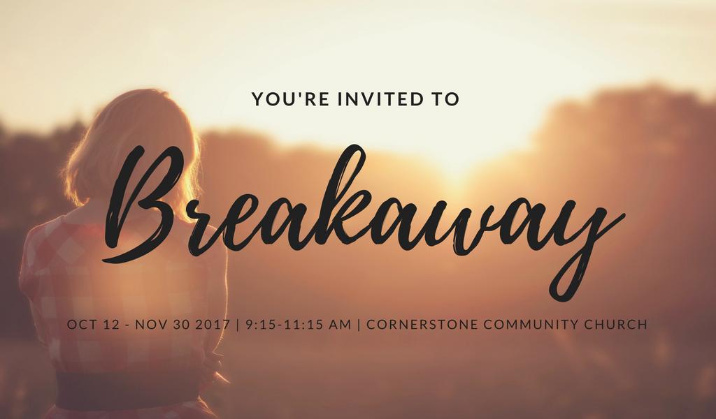 Breakaway registrations event logo
