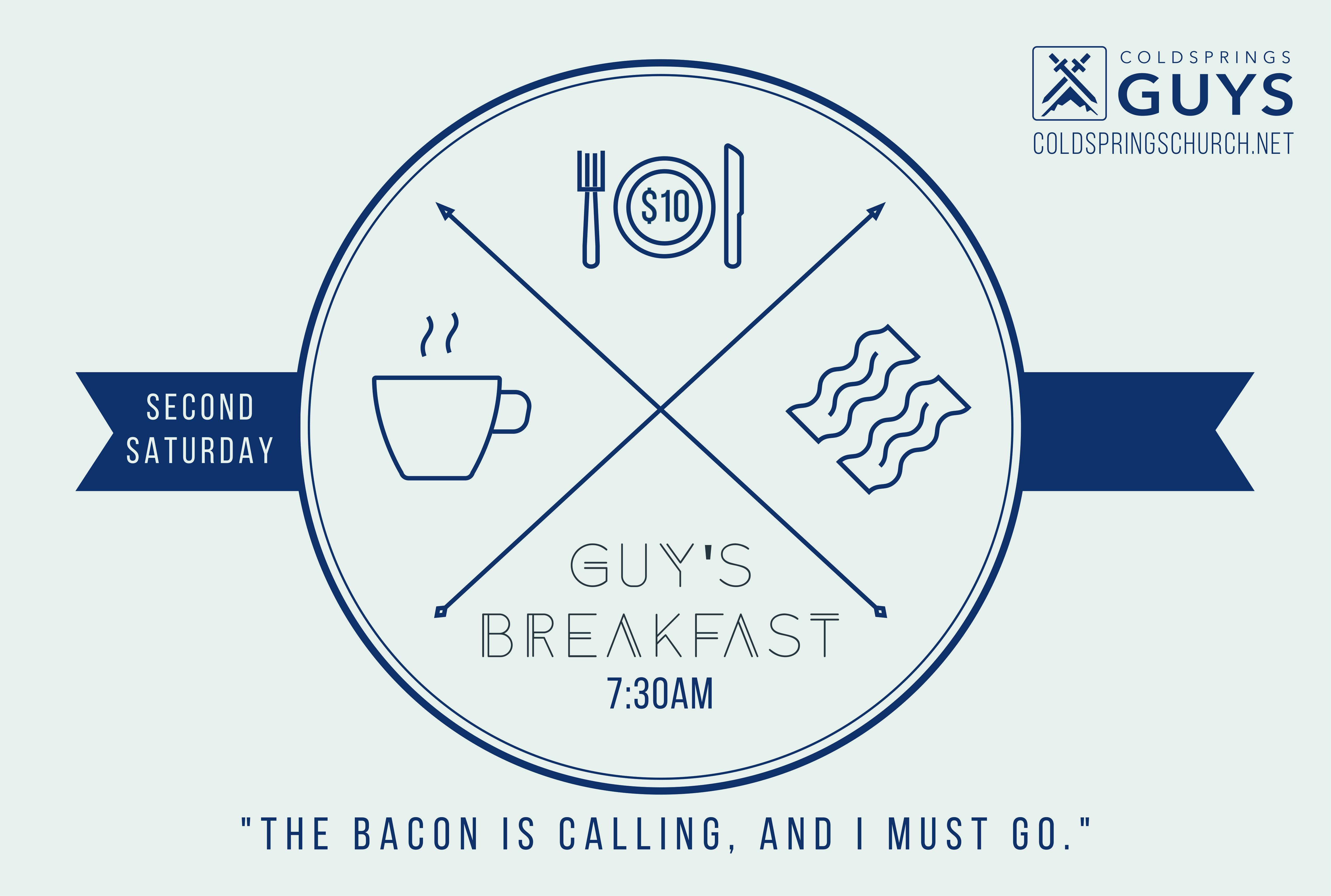 Men s breakfast 1