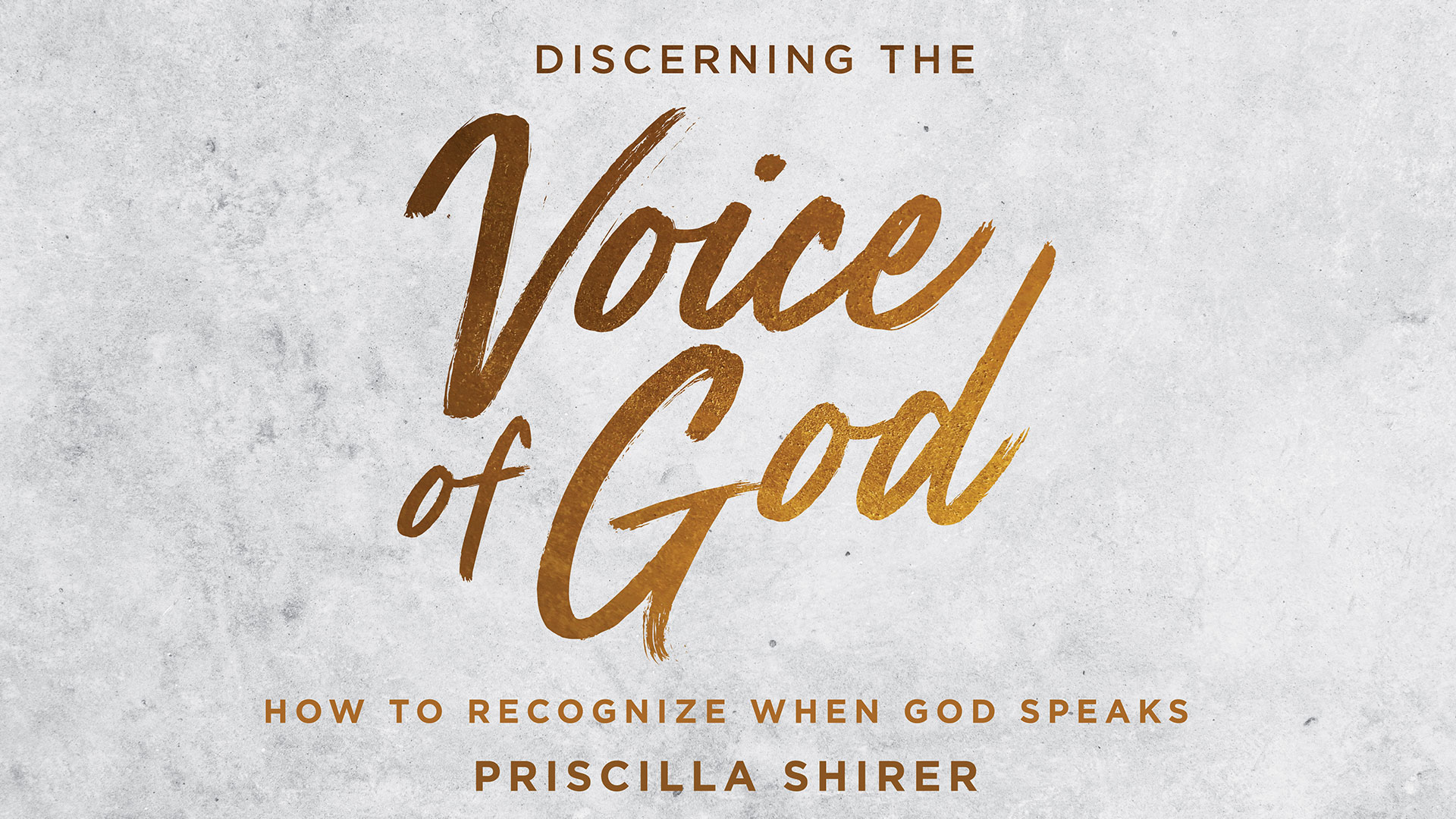 Discerning the voice of god