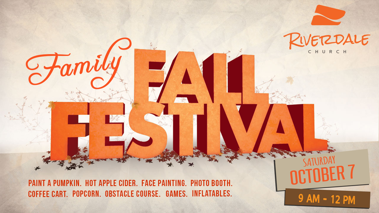 Family fall festival 2017