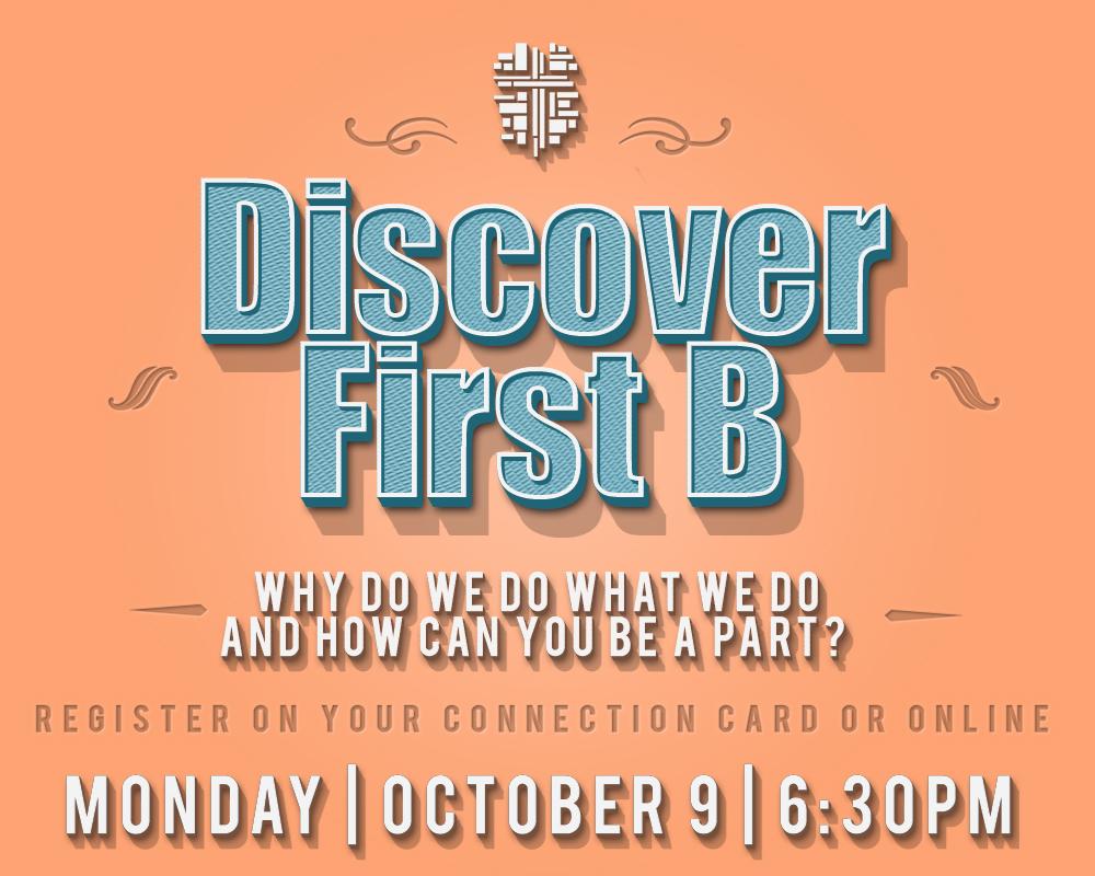 Discover first b   retro   oct 9