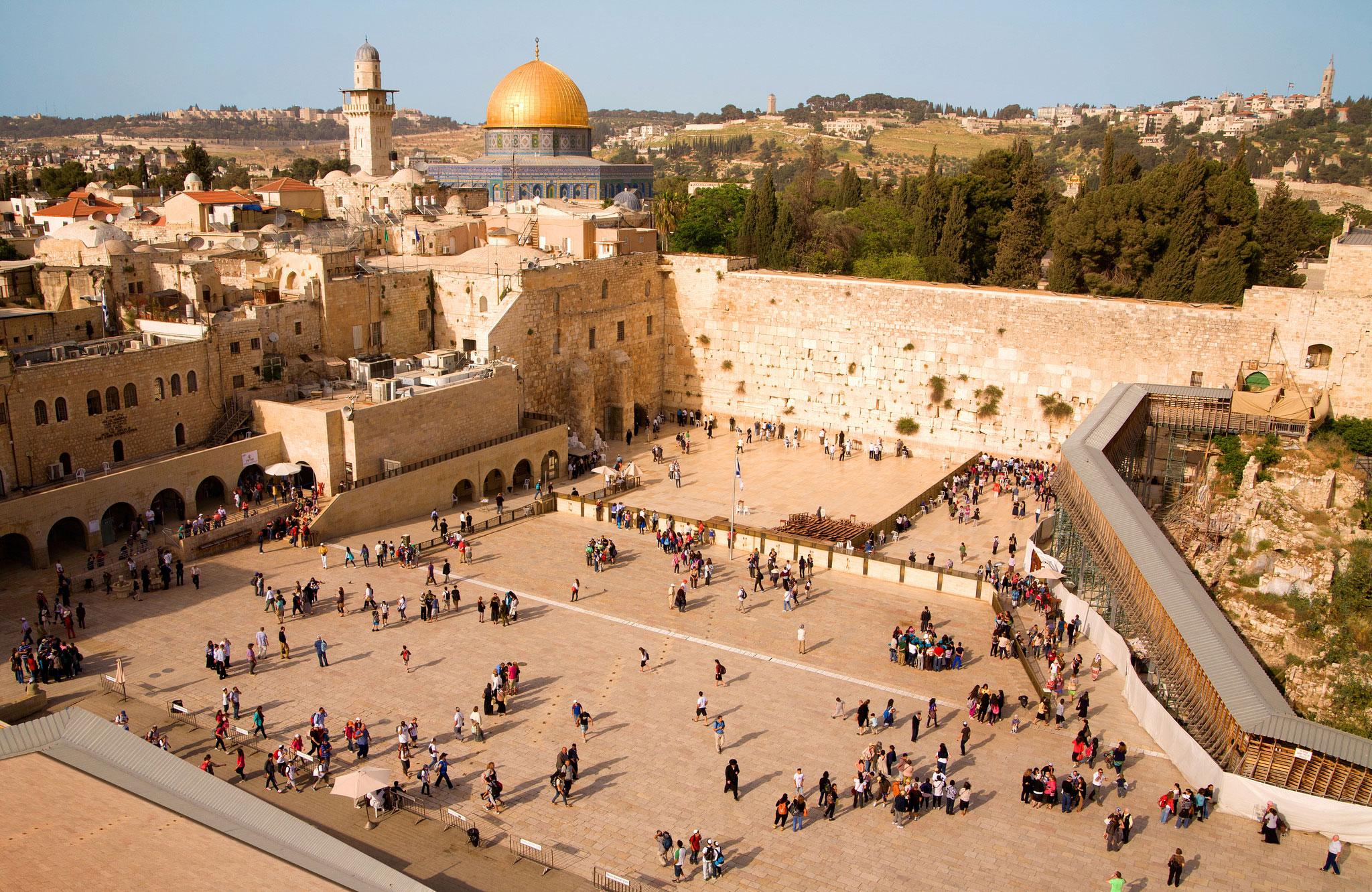 Jerusalemwestwalldomeofrock