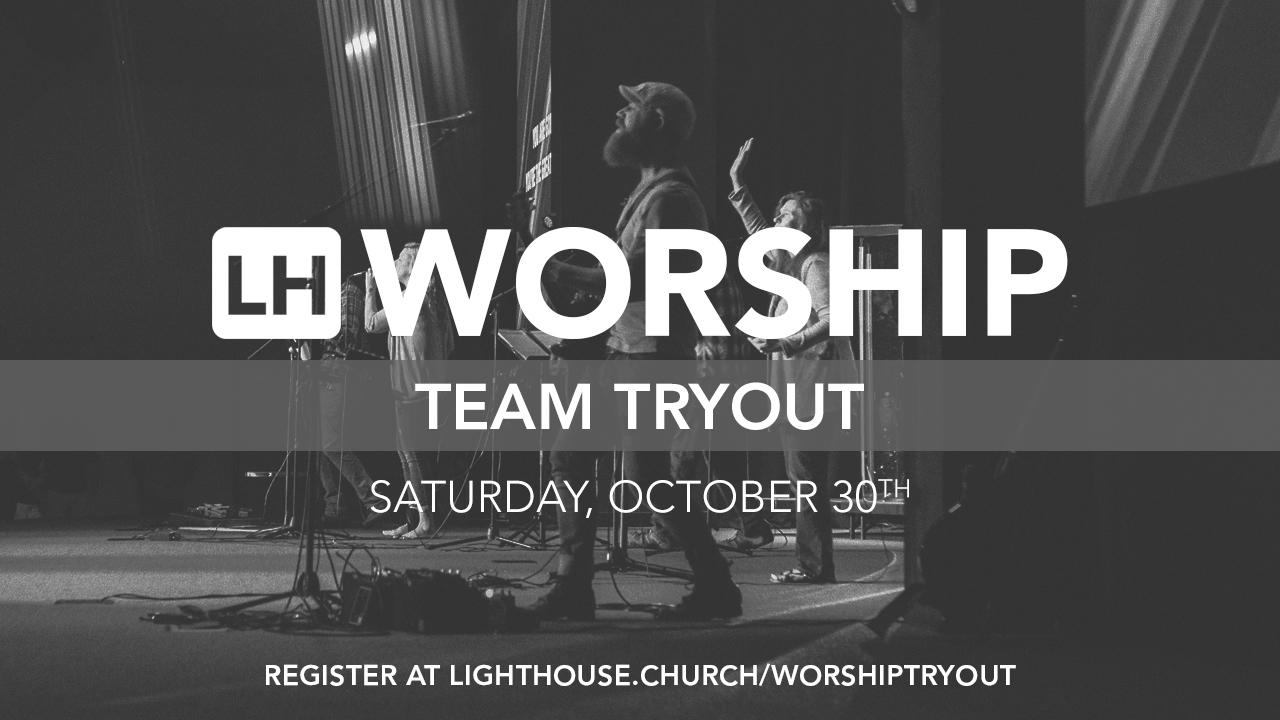 Worship team tryout