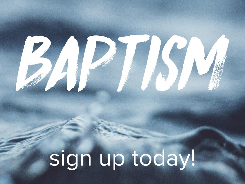New baptism logo pco