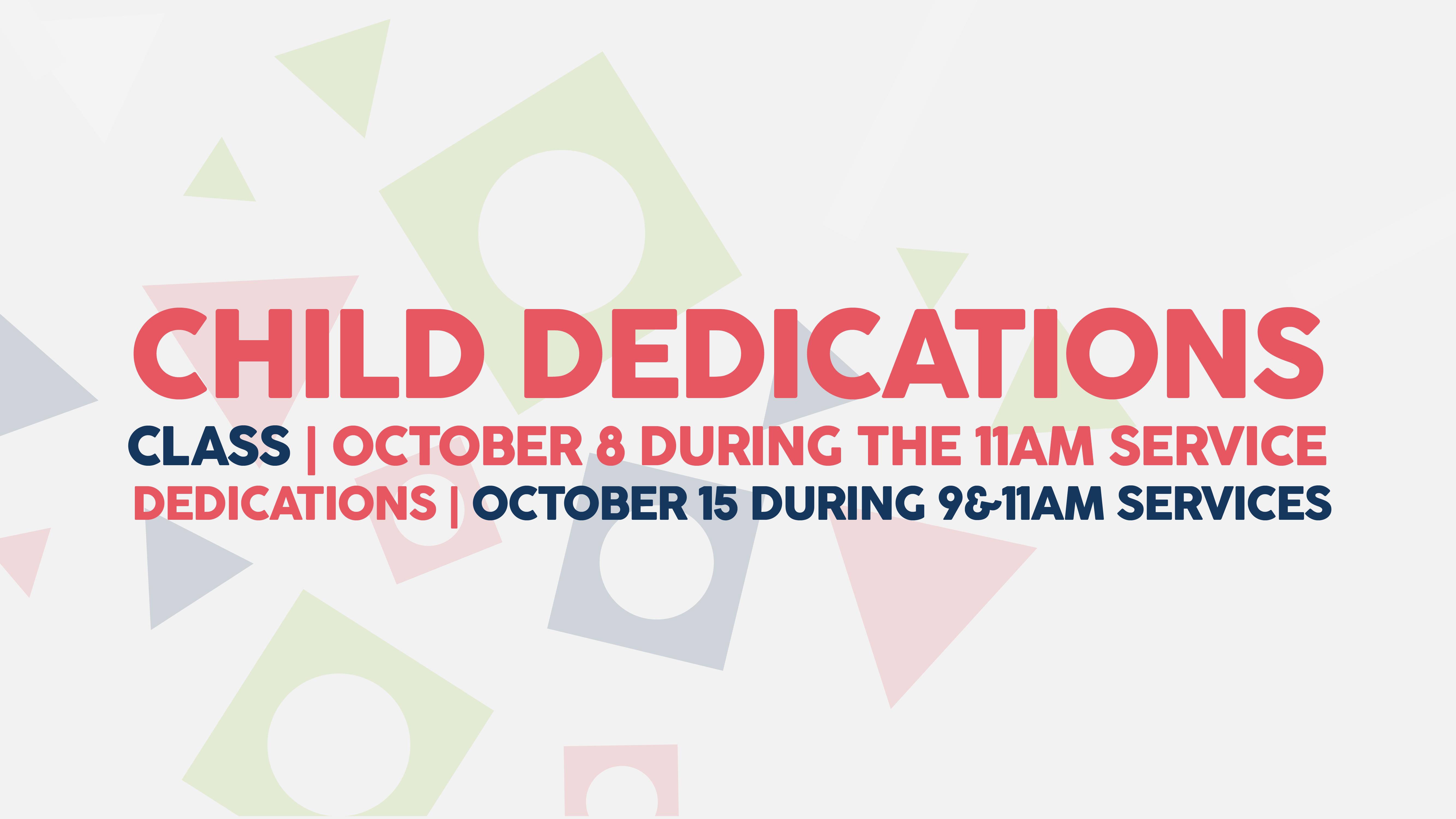 Child dedications 01