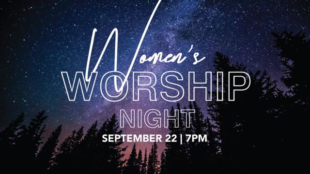 Women s worship night