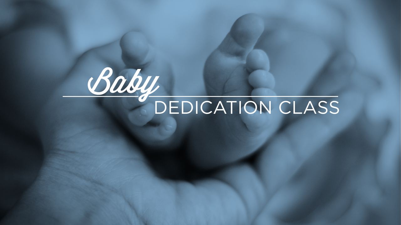 Baby dedication class image