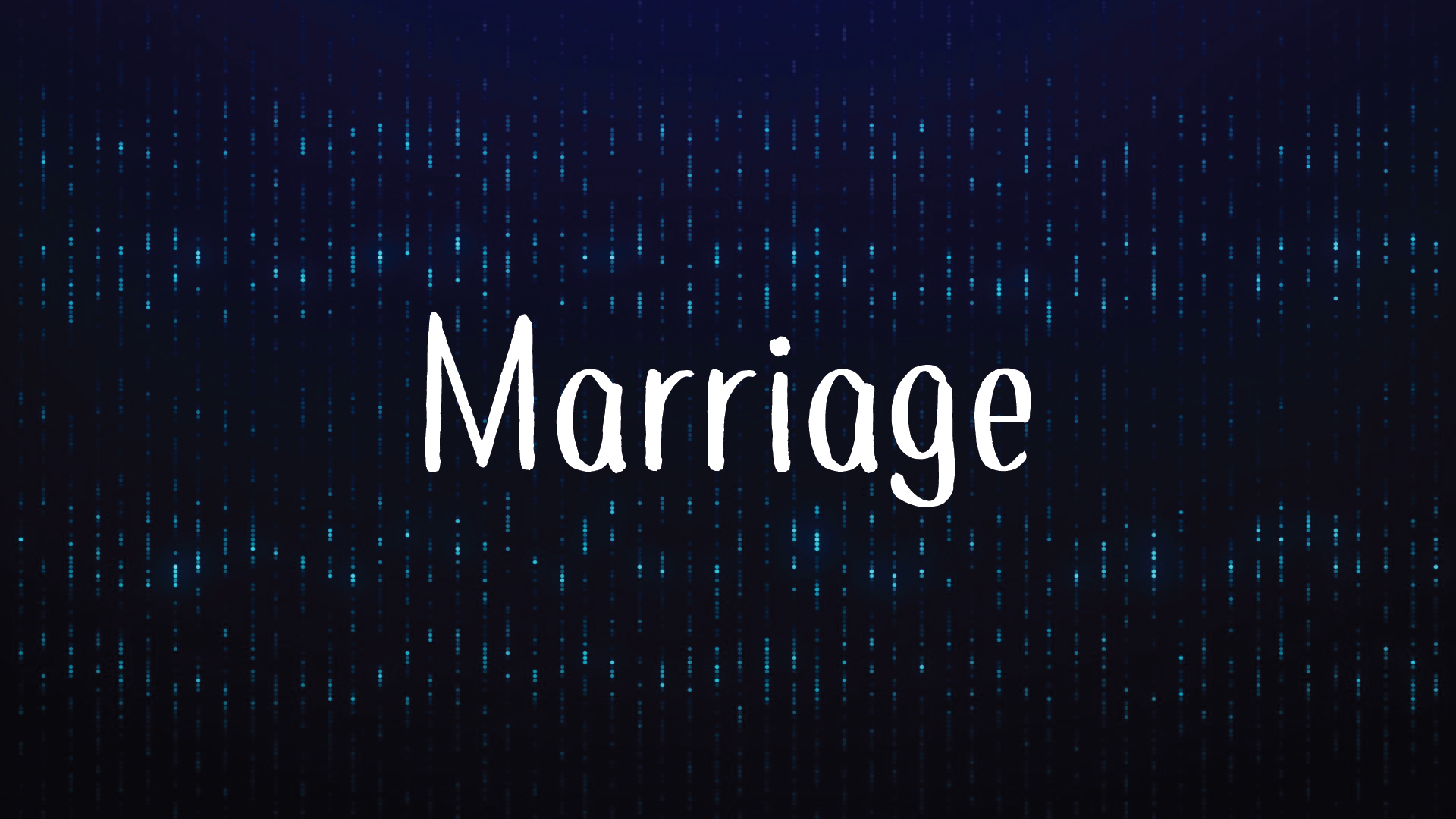 Marriage 01