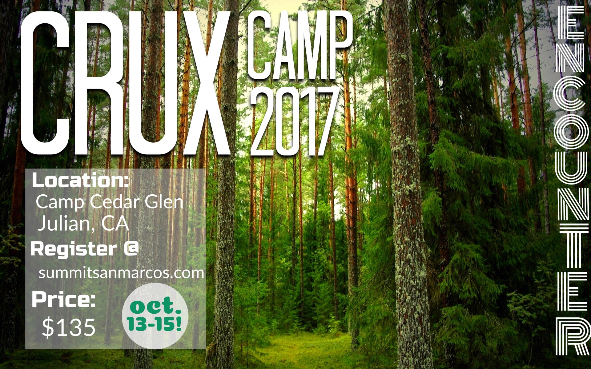 Crux revival camp
