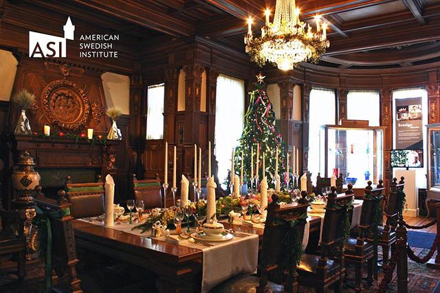 Christmas at the american swedish institute
