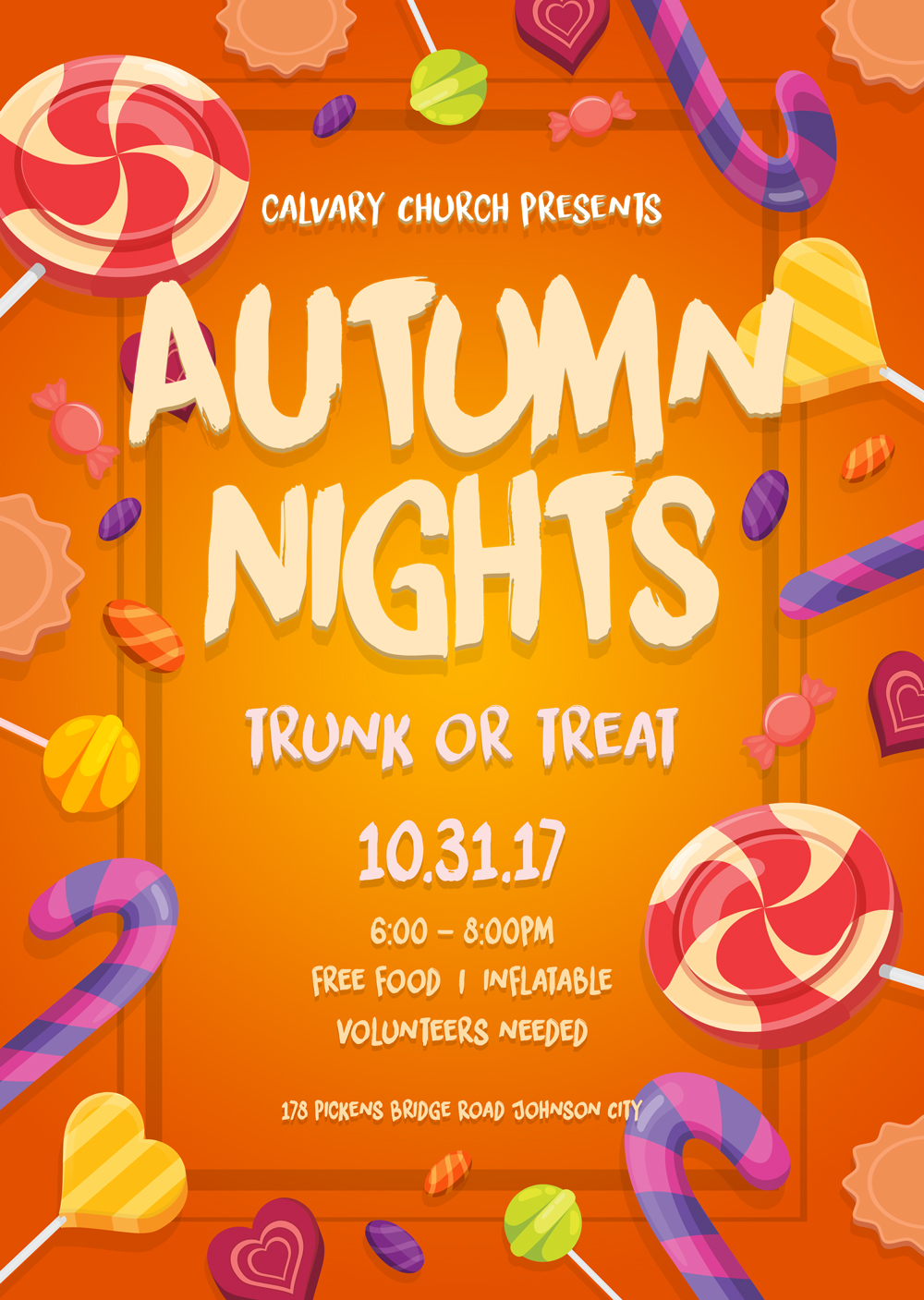 Autumn nights social