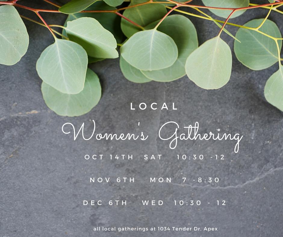 Women s gatherings fall2017