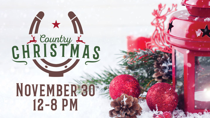 Country Christmas Volunteer logo image