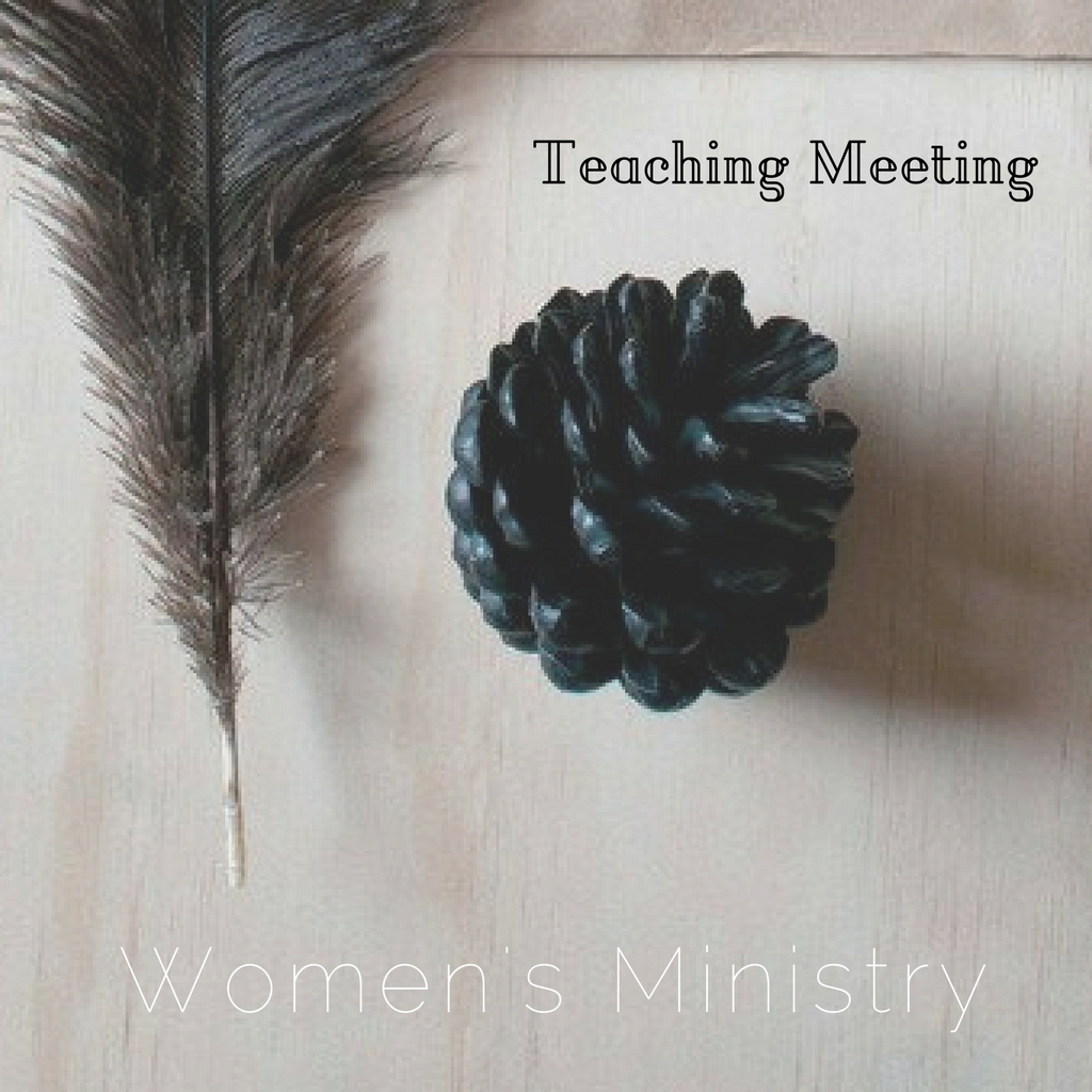2017 women s ministry teaching meeting  square