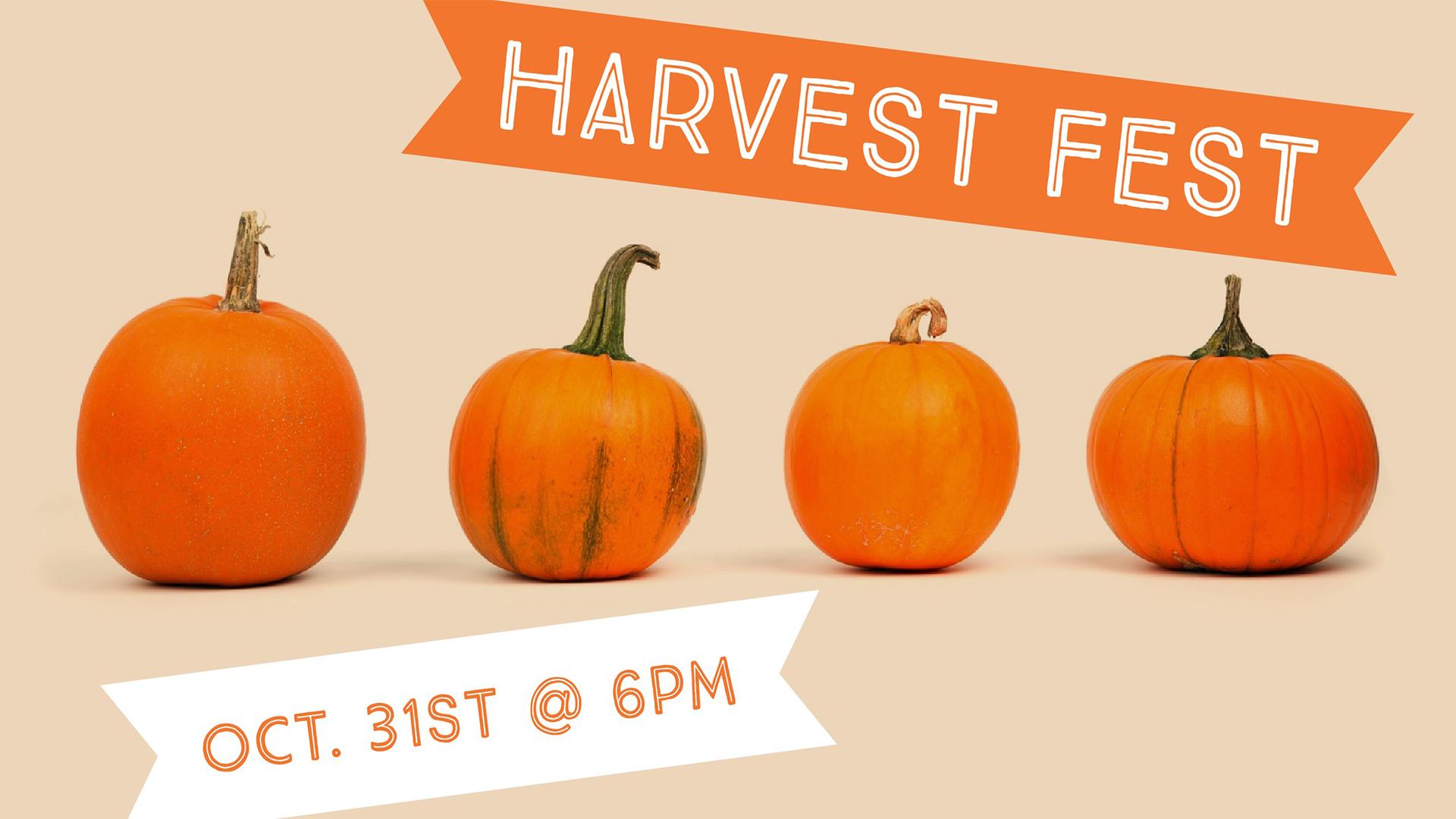 Harvest fest graphic