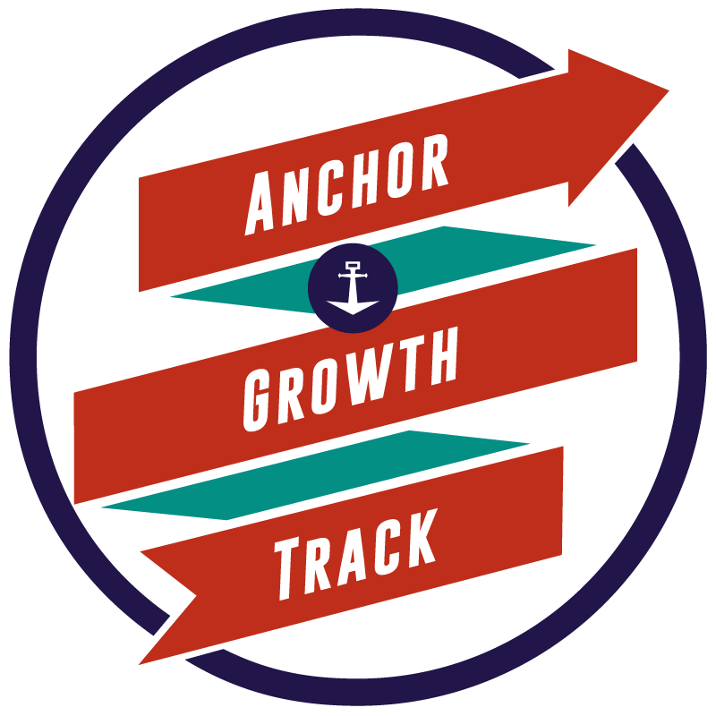 Anchor growth track logo