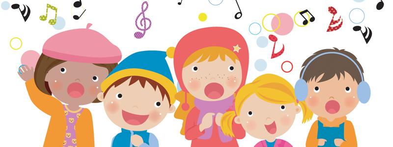 Kidz choir webpage